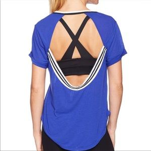 Free People Movement Zephyr Tee in Blue